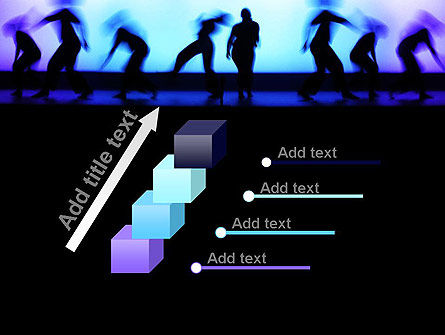 Dancing Silhouettes PowerPoint Template Slide 14