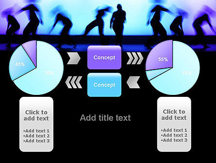 Dancing Silhouettes PowerPoint Template Slide 16