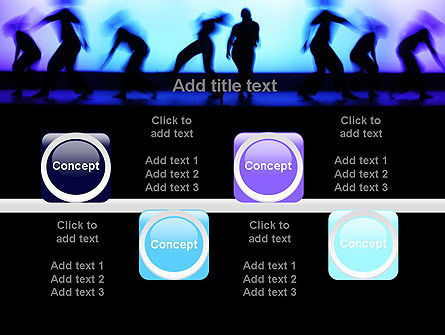 Dancing Silhouettes PowerPoint Template Slide 18