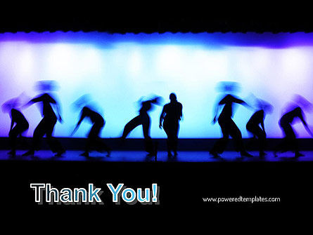Dancing Silhouettes PowerPoint Template Slide 20