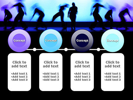 Dancing Silhouettes PowerPoint Template Slide 5