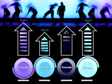 Dancing Silhouettes PowerPoint Template Slide 7
