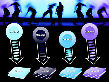 Dancing Silhouettes PowerPoint Template Slide 8