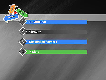 Iteration PowerPoint Template, Slide 3, 11179, Technology and Science — PoweredTemplate.com