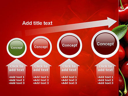 Cherries PowerPoint Template Slide 13