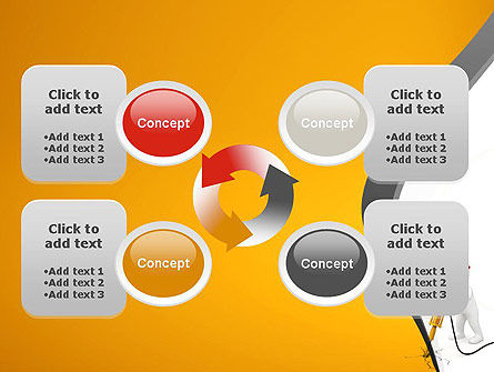 Jackhammer Worker PowerPoint Template Slide 9