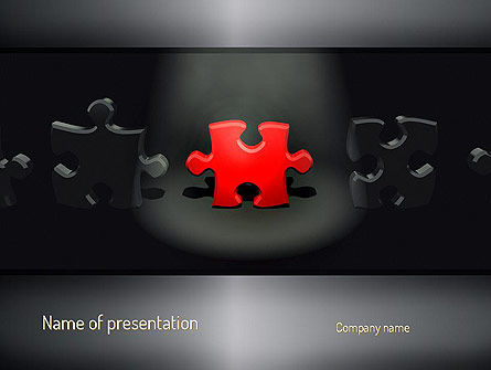 The One PowerPoint Template, 11185, Business Concepts — PoweredTemplate.com