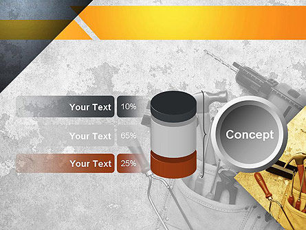 Construction Tools PowerPoint Template Slide 11