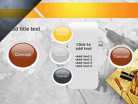 Construction Tools PowerPoint Template Slide 17