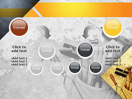 Construction Tools PowerPoint Template Slide 19