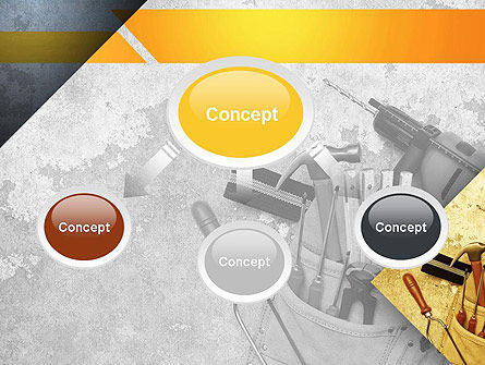 Construction Tools PowerPoint Template Slide 4