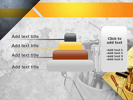 Construction Tools PowerPoint Template Slide 8