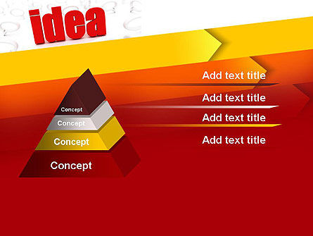 Idea with Arrows PowerPoint Template Slide 12
