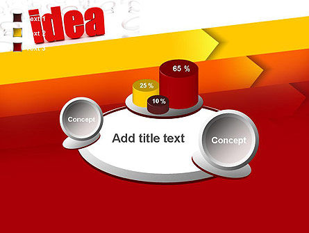 Idea with Arrows PowerPoint Template Slide 16