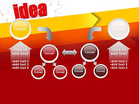 Idea with Arrows PowerPoint Template Slide 19