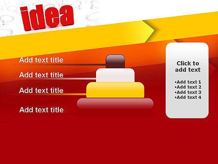 Idea with Arrows PowerPoint Template Slide 8