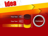 Idea with Arrows PowerPoint Template#11