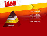 Idea with Arrows PowerPoint Template#12