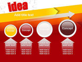 Idea with Arrows PowerPoint Template#13