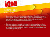 Idea with Arrows PowerPoint Template#2