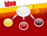 Idea with Arrows PowerPoint Template#4
