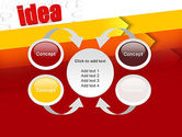 Idea with Arrows PowerPoint Template#6