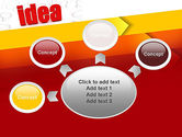 Idea with Arrows PowerPoint Template#7