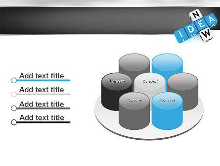 New Idea Crossword PowerPoint Template Slide 12