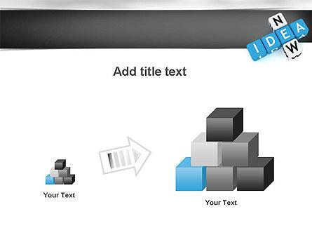 New Idea Crossword PowerPoint Template Slide 13