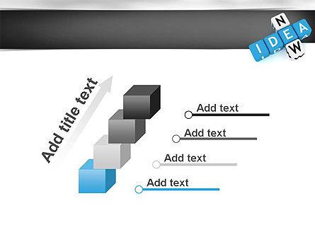 New Idea Crossword PowerPoint Template Slide 14