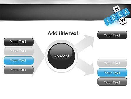 New Idea Crossword PowerPoint Template Slide 15