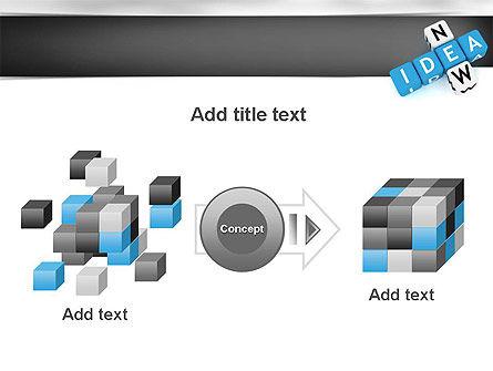 New Idea Crossword PowerPoint Template Slide 17