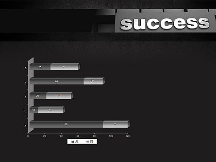 Success Tittle on a Block PowerPoint Template Slide 11