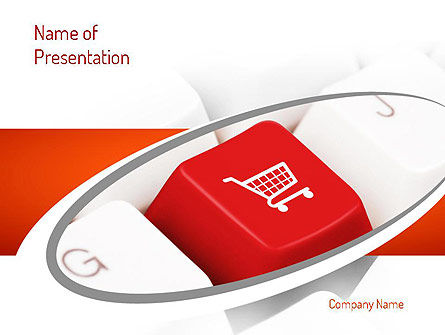 Ecommerce Keyboard PowerPoint Template