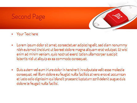 Ecommerce Keyboard PowerPoint Template Slide 2