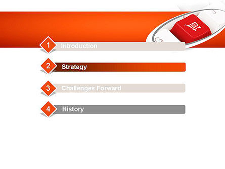 Ecommerce Keyboard PowerPoint Template, Slide 3, 11195, Careers/Industry — PoweredTemplate.com