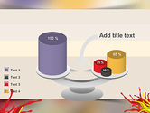 Red and Yellow Splash Paint PowerPoint Template#10