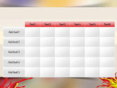 Red and Yellow Splash Paint PowerPoint Template#15