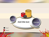 Red and Yellow Splash Paint PowerPoint Template#16