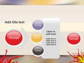 Red and Yellow Splash Paint PowerPoint Template#17