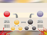 Red and Yellow Splash Paint PowerPoint Template#19