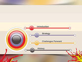 Red and Yellow Splash Paint PowerPoint Template#3