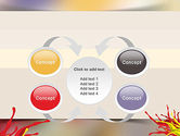 Red and Yellow Splash Paint PowerPoint Template#6