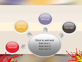 Red and Yellow Splash Paint PowerPoint Template#7