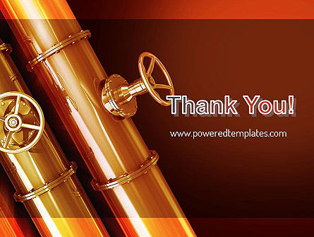 Industrial Pipes PowerPoint Template Slide 20