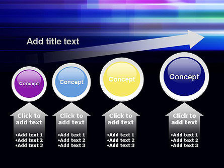 Abstract Multicolor Motion PowerPoint Template Slide 13