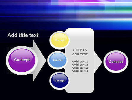 Abstract Multicolor Motion PowerPoint Template Slide 17