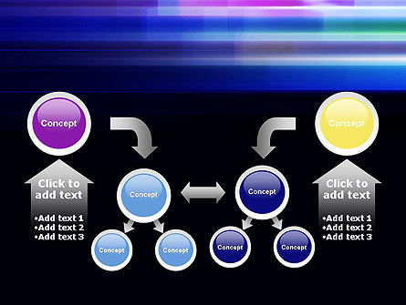 Abstract Multicolor Motion PowerPoint Template Slide 19