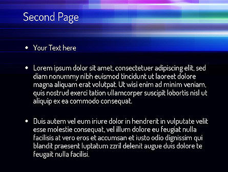 Abstract Multicolor Motion PowerPoint Template Slide 2