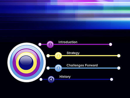 Abstract Multicolor Motion PowerPoint Template Slide 3